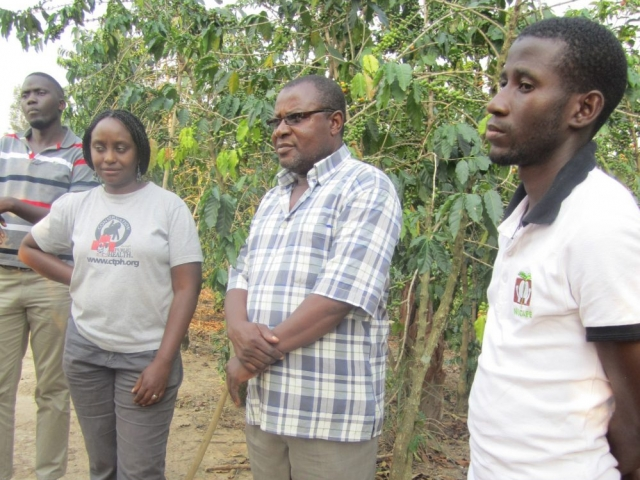 Gorilla Conservation Coffee team farmer training