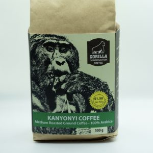 500g Kanyonyi Coffee - Medium Roasted Ground Coffee